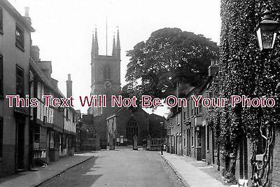 LC 450 - St Mary's Church & Church Street, Lutterworth, Leicestershire 6x4...
