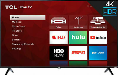Roku 4K TV 55 inch LED 2160p Smart 4K UHD with HDR Roku Built In WiFi Best