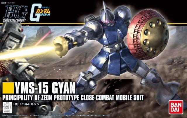New HGUC Gundam GYAN 1/144 scale plastic model Bandai BAN206317 F/S from Japan