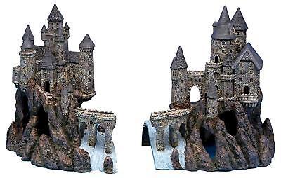 Penn Plax Super Magical Castle Aquarium Decoration Ornaments Section A & - Castle Decorations