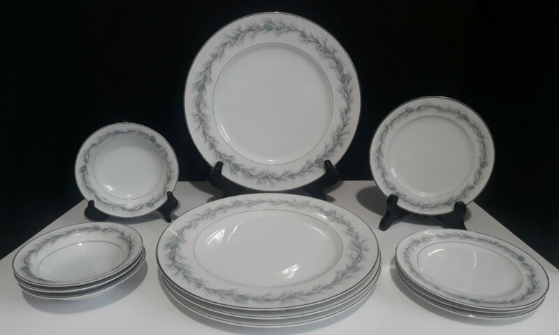 VINTAGE STYLE HOUSE FINE CHINA DUCHESS MADE IN JAPAN SERVICE FOR 4 - 12 PIECE