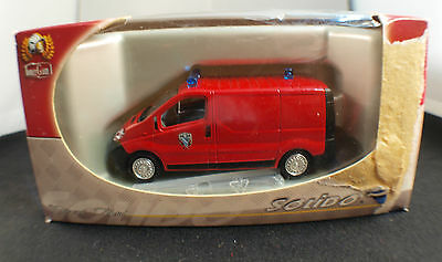 Solido 2184 ◊ Renault Traffic Firefighters Essonne ◊ 1/43 ◊ in Box / Boxed