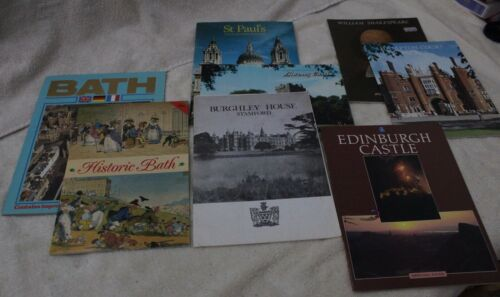 Lot of 8 travel booklets for British/Irish travel destinations (see photos)