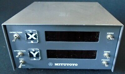 Mitutoyo Model Erc-5601w Dro Box 2 Axis No Scales 164-735