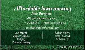 Affordable lawn mowing Carina Brisbane South East Preview