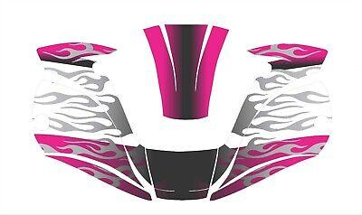 Miller Digital Elite 257213 Titanium Welding Helmet Wrap Decal Sticker Jig Pink