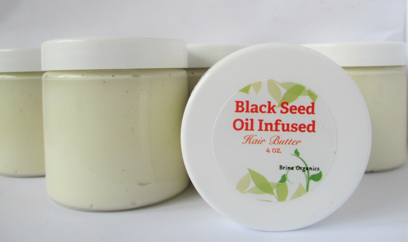 Black Seed Hair Butter Moisturizer Thicker Hair, 4 ounces, B