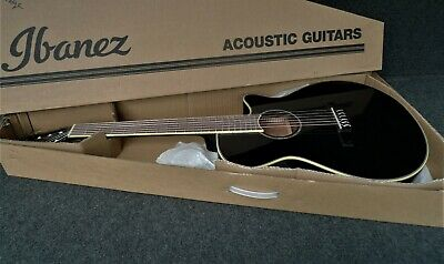 IBANEZ AEG10NII-BK Acoustic-Electric CLASSIC CUTAWAY BLACK with NYLON STRINGS
