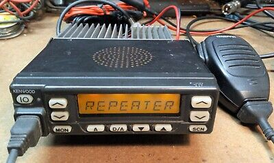 Kenwood TK860HG 2-way Mobile Radio, 45 watts 128 channel w/accys - Free Program