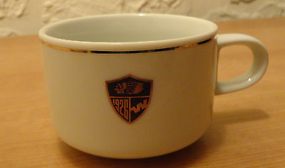Western Airlines 60th Anniversary Indian Logo Tea Coffee Cup China ABCO Japan