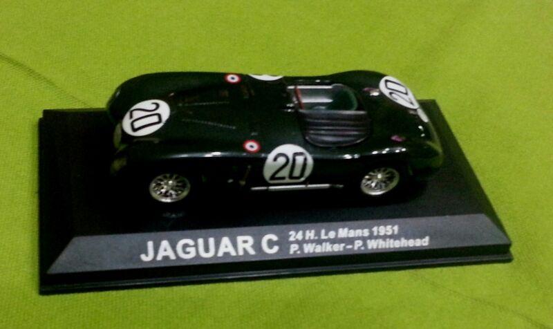 Sport Car Spider Cabrio Jaguar C Le Mans #20 1951 Auto Corsa 1:43 Used V. Rare