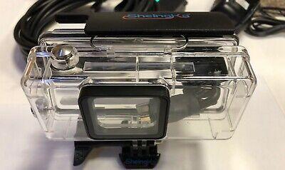 Underwater Housing 10'HDMI+USB Power Continue Feed For Gopro HD Hero5-6-Hero7 Camera