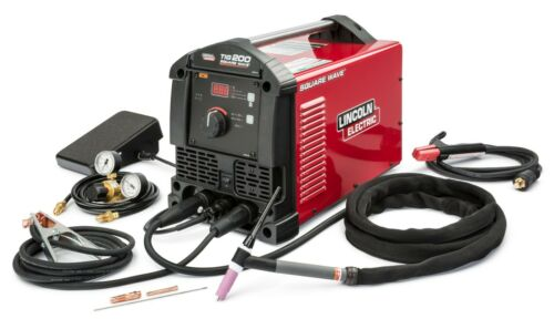 Lincoln Square Wave TIG 200 Welder- New! 3-yr factory warranty K5126-1  in stock