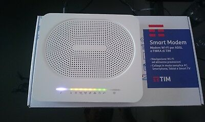 SMART MODEM ROUTER WI-FI ADSL E FIBRA TIM TELECOM TECHNICOLOR