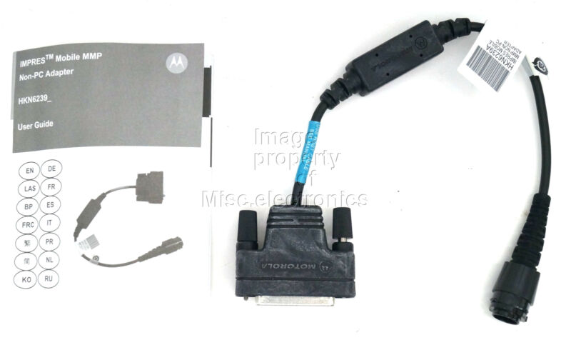 Motorola Mobile MMP-DB25 Non-PC Adapter HKN6239 Sirens Accessories APX/XTL Radio