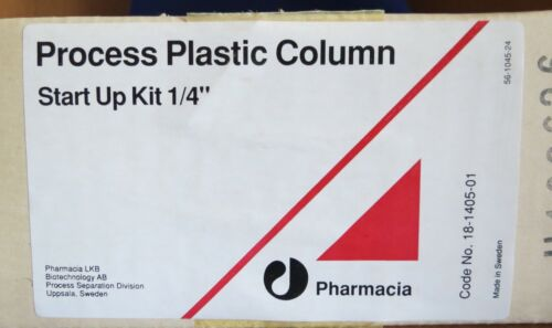 "Pharmacia BioProcess 113 & 252 Plastic Column Start Up Kit ¼"" 18-1405-01"