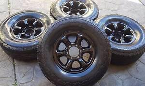 "31"" Falken Wildpeak All Terrain Tyres and Rims Yangebup Cockburn Area Preview"