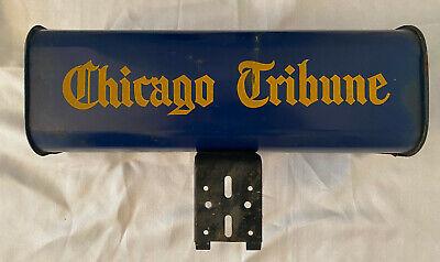 Vintage Chicago Tribune Newspaper Delivery Tube