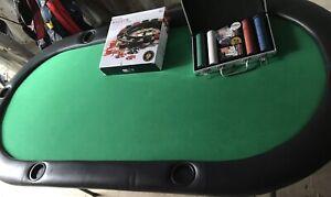 Table de poker et jeton/ poker table and token