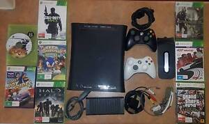 XBOX 360 120GB+8 GAMES+2 CONTROLLER Keilor Downs Brimbank Area Preview