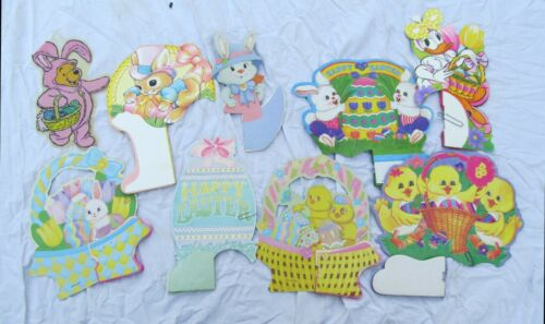 Easter Bunny Table Decorations Disney Pooh Daisy Duck LOT