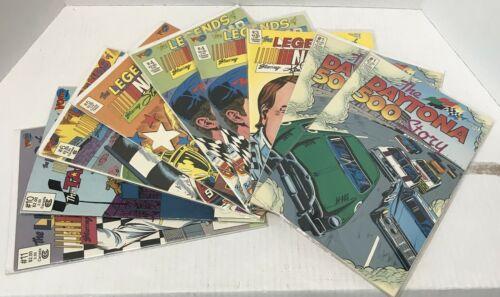 "Vintage Vortex Comics ""The Legends of NASCAR"" & ""The Daytona 500 Story"""