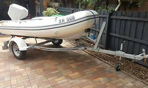 INFLATABLES BOAT and PARSUN 40 HP Balwyn North Boroondara Area Preview