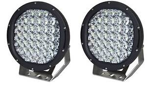 Pair 9inch 185W Cree LED Driving Lights Spot bar Offroad Truck Osborne Park Stirling Area Preview