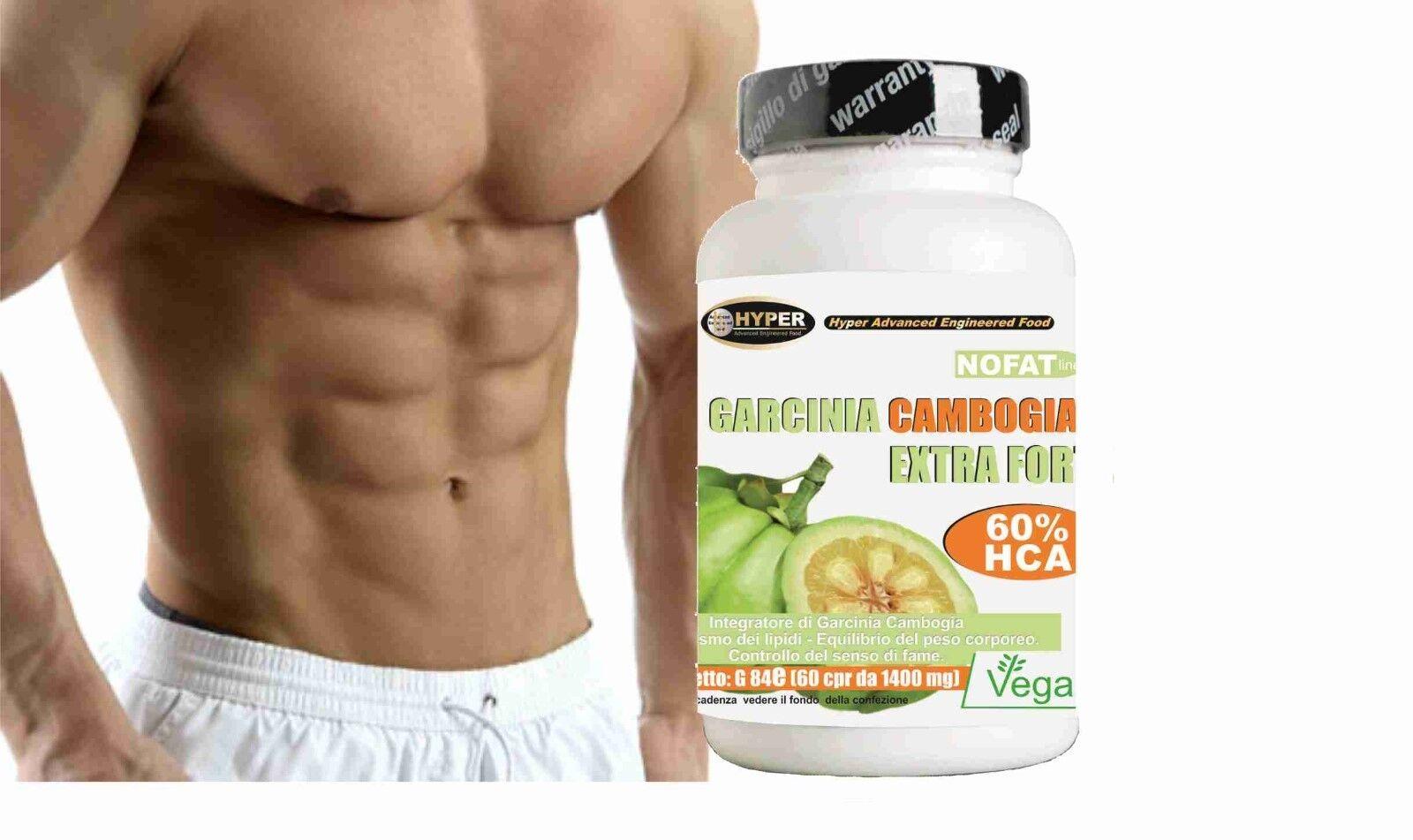 Garcinia Cambogia Extra Forte  Bruciagrassi -Dimagrante termogenico 60 compresse