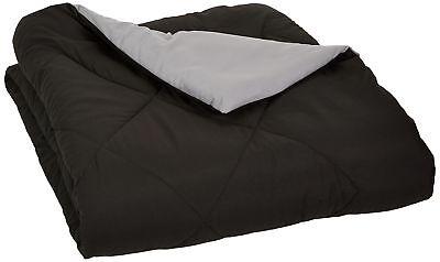 AmazonBasics Reversible Microfiber Comforter - Full/Queen, B