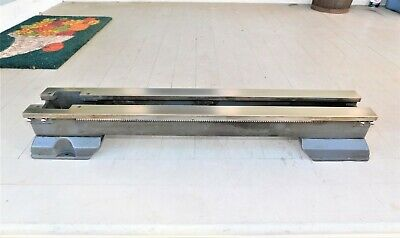 Atlas 618 Craftsman 101 6 Lathe Bed With Rack And Feet Nice