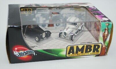 100% Hot Wheels AMBR Americas Most Beautiful Roadsters Limited Edition 2 Car Set