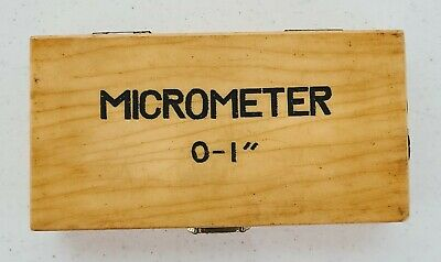 Phase Ii 0-1 Inch Outside Micrometer .0001 Grad With Box