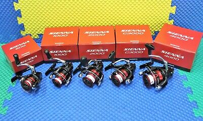 Shimano Sienna Spinning Front Drag Reels SN-FG Series CHOOSE YOUR -
