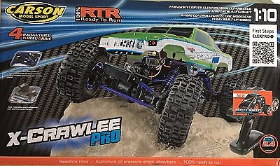 Carson X-Crawlee Pro RTR Crawler 2,4 ghz TOP RC Car 1:10