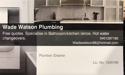 Wade Watson plumbing