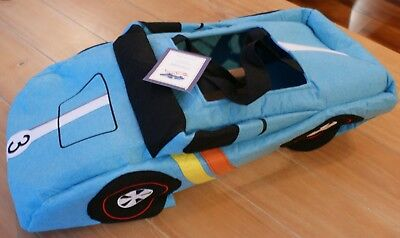 New Pottery Barn Kids BLUE HOT WHEELS CAR Race Car Costume Kids Size 3T (Small) - Kids Car Costume