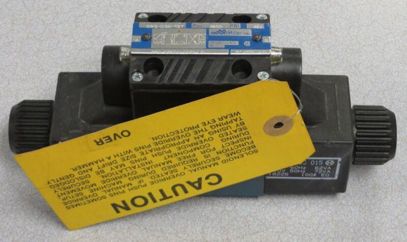 MILLER FLUID POWER Hyd. Directional Control Valve M/N: 583-D3E-137/583-D3ECO....