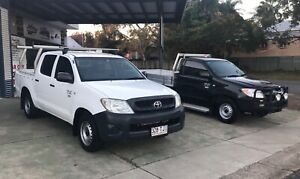 2009 Toyota Hilux Workmate TGN16R 08 Manual DualCab Maryborough Fraser Coast Preview