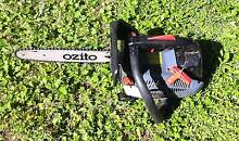 Ozito petrol Chain Saw @ stroke Leumeah Campbelltown Area Preview