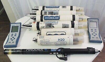 Huge Lot Of Hydrolab Minisonde 4a Datasonde 3 Surveyor Water Quality Multiprobe