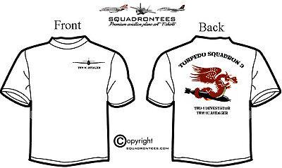 3t Short - Torpedo Squadron 3 T-Shirt, Long or Short Sleeve