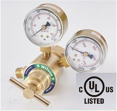 Oxygen Gas Regulator Light Duty Cutting Cga540 Compatible With Victor Sr150-540