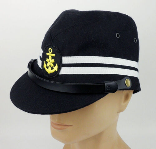 WWII JAPANESE NAVAL MILITARY HAT WW2 JAPANESE OFFICER NAVY HAT CAP
