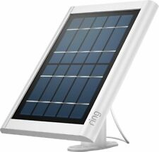 Ring Solar Panel for Spotlight Cam Battery and Stick Up Cam, White Brand New