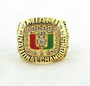 Miami Hurricanes Championship Ring