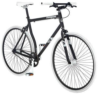 700c Mongoose Men's Bike Detain, White Black