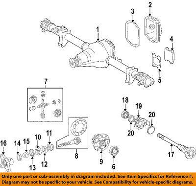 Dodge CHRYSLER OEM 03-06 Sprinter 2500 Rear-Axle Shaft 5179120AA