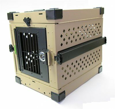 "Folding Collapsible Heavy Duty Travel Dog Crate X- Large 40.5""L x 25""W x 28.5""H"