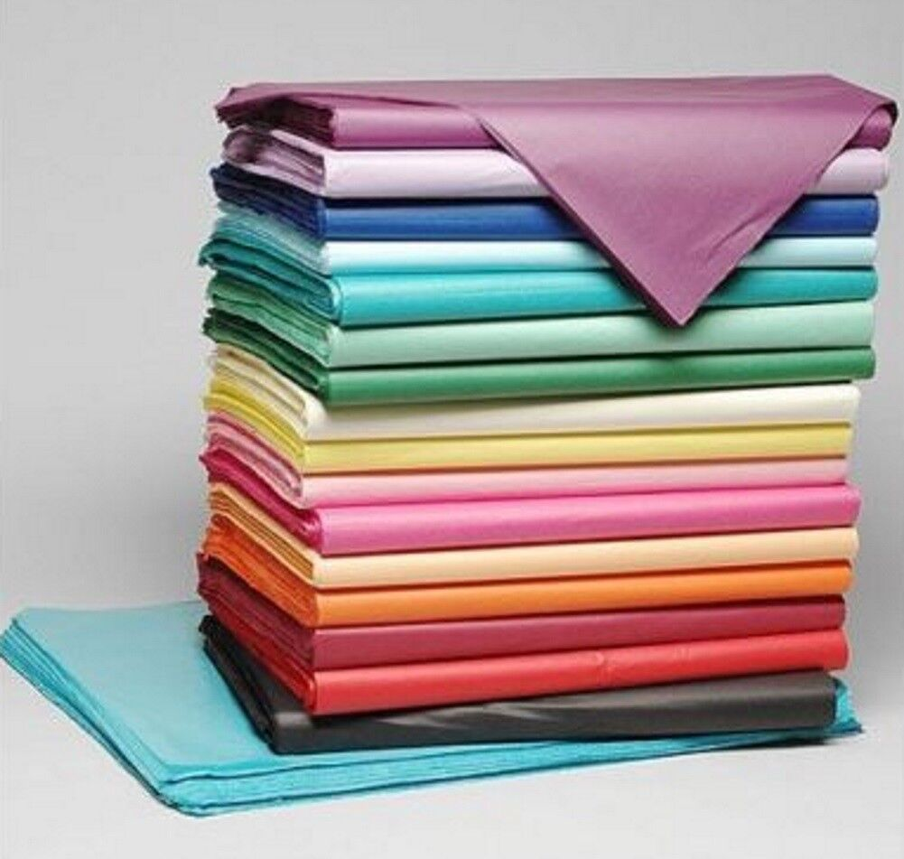 """500 Sheets of Acid Free 45cm x 35cm Tissue Paper 18gsm Wrapping Paper 18/""""x 14/"""""""